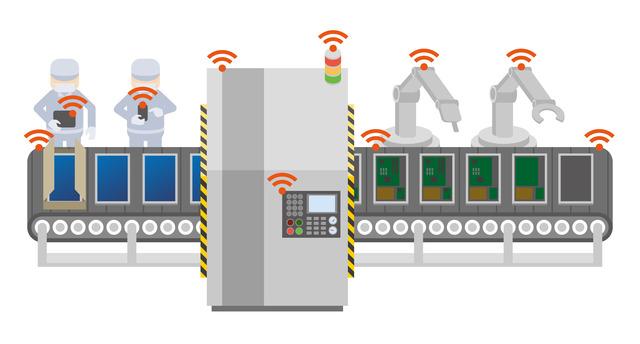 工場IoT化イメージ